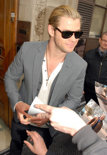 Chris Hemsworth Head To The BBC