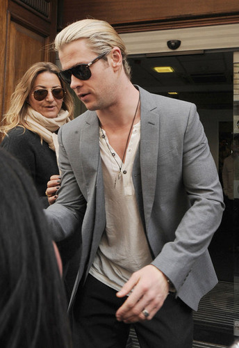 Chris Hemsworth Head To The BBC