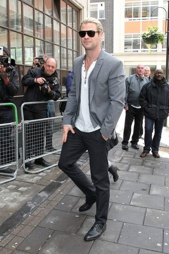 Chris Hemsworth Head To The BBC - chris-hemsworth Photo