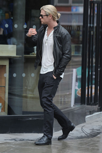 Chris Hemsworth In London