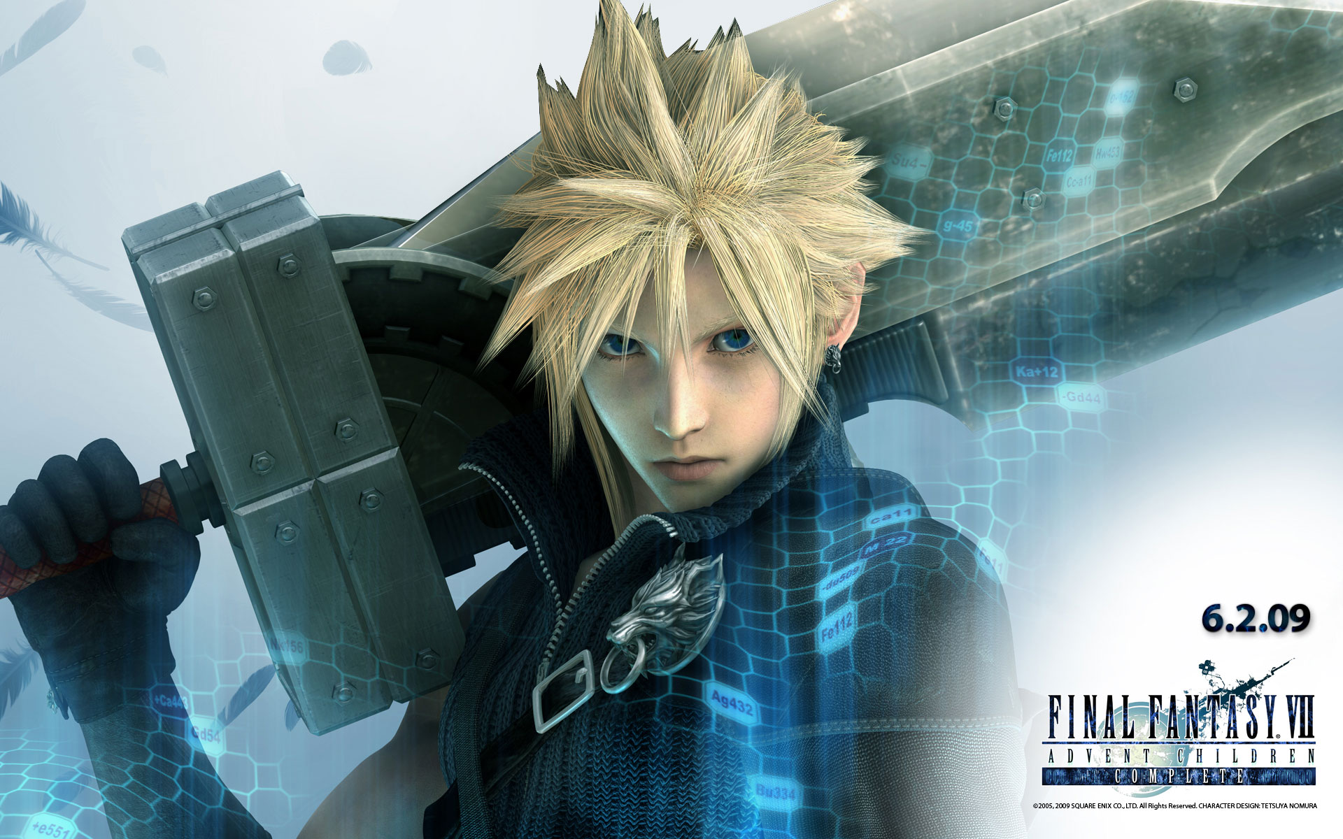 cloud final fantasy vii wallpaper 30869660 fanpop