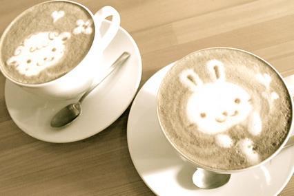 Coffee Art Wallpaper