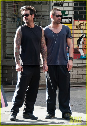 Colin Farrell: Brother Bonding Time - colin-farrell Photo