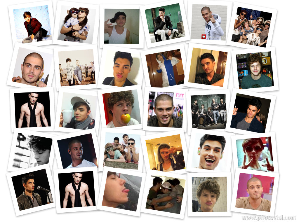 Collage of The Wanted.x