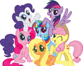 Color Swap Mane 6!!