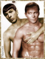 Come play with me - spirk fan art