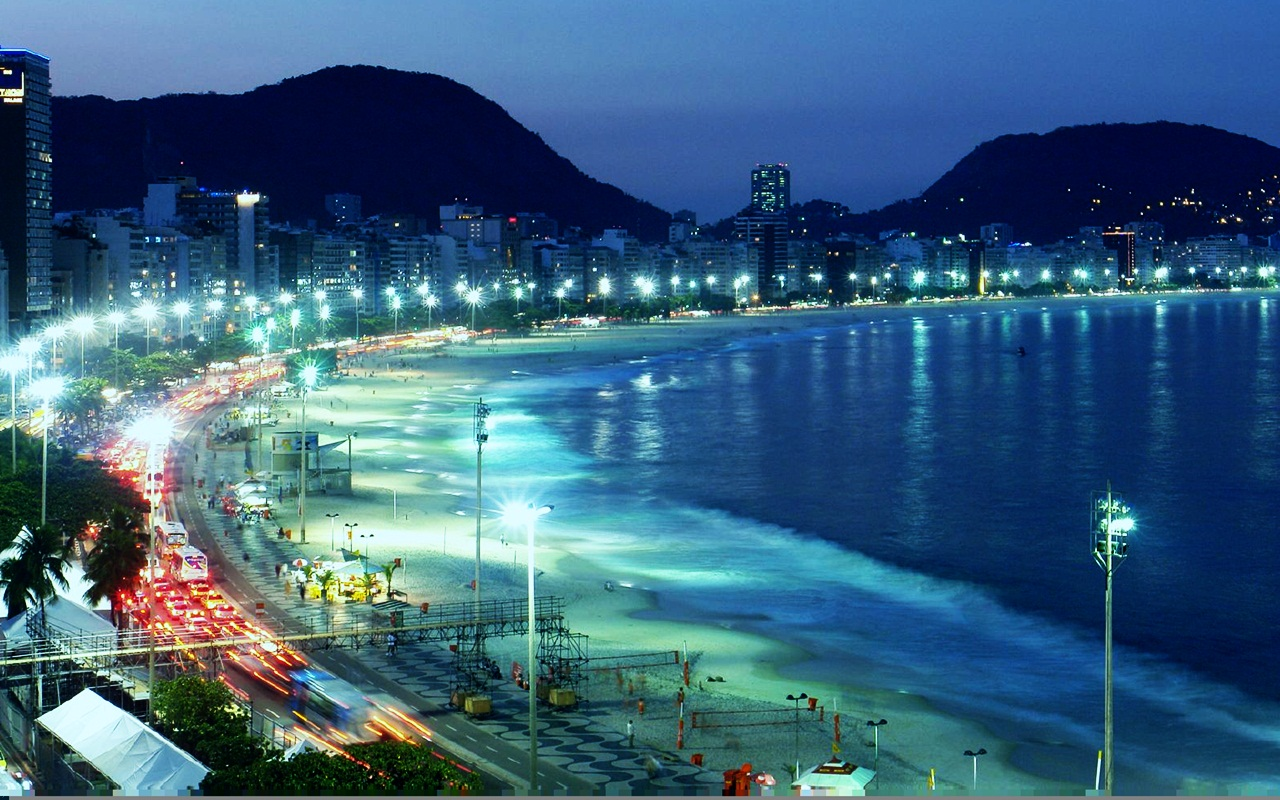 Copacabana  Brazil Wallpaper 30898238  Fanpop