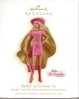 barbie and the three musketeers wallpaper called Corinne ornament