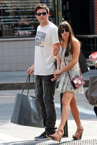 Cory & Lea Shopping in Soho - May 16,2012