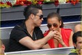 Cristiano Ronaldo &amp; Irina Shayk: Madrid Tennis Open! - cristiano-ronaldo photo