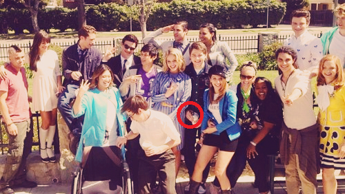 Damian your hand is on one inappropriate place!  o  XD