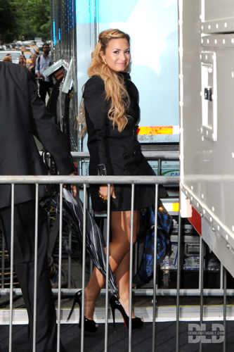 Demi - Leaves the Wollman Rink in New York City - May 14, 2012