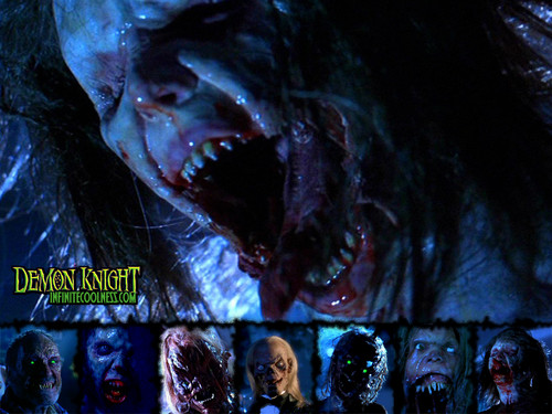 film horror wallpaper probably with a konser and anime titled Demon Knight oleh MRF...Oh Yeah!