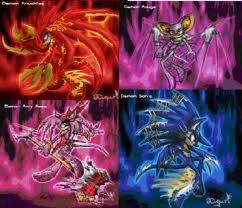 Demon sonic charactors!