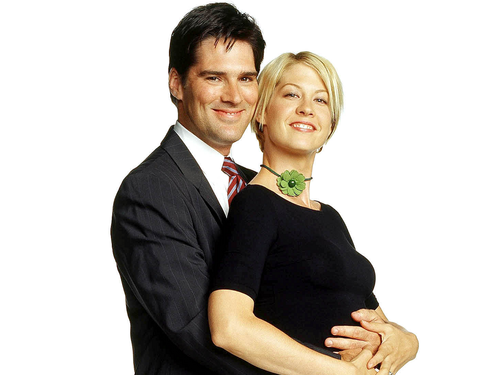 Dharma & Greg wallpaper containing a business suit and a suit called Dharma & Greg
