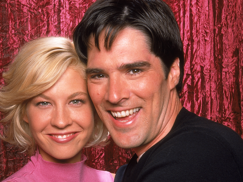 Dharma & Greg wallpaper probably containing a portrait entitled Dharma & Greg