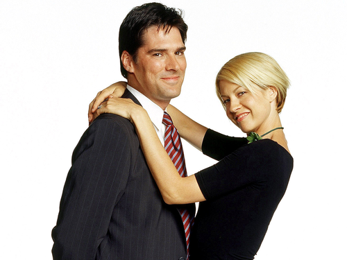Dharma & Greg wallpaper with a business suit and a suit called Dharma & Greg