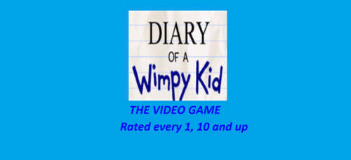 Diary of a Wimpy Kid: the Video Game