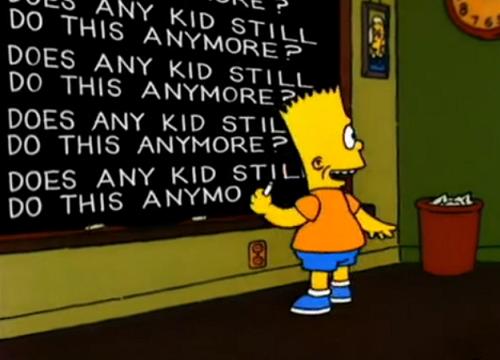 Does any kid?