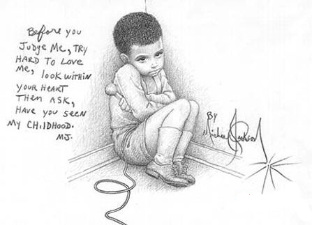 Drawings 由 Michael Jackson. Michael Jackson taught himself