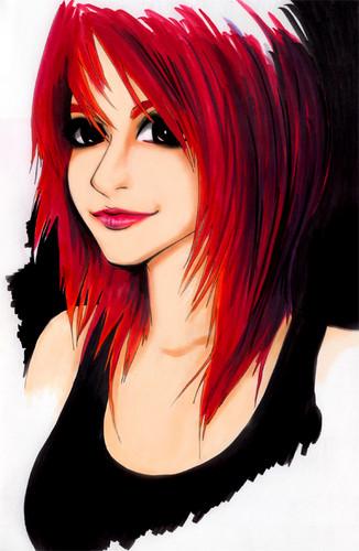 Drawings of Hayley