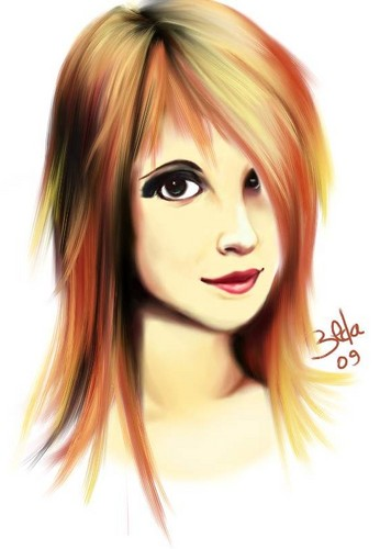 Drawings of Hayley