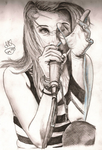 Hayley Williams wallpaper called Drawings of Hayley