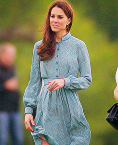 Duchess Catherine hanging out at polo
