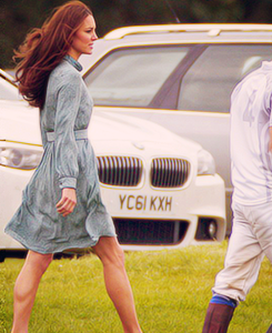The british royal family fashion duchess catherine hanging out at polo