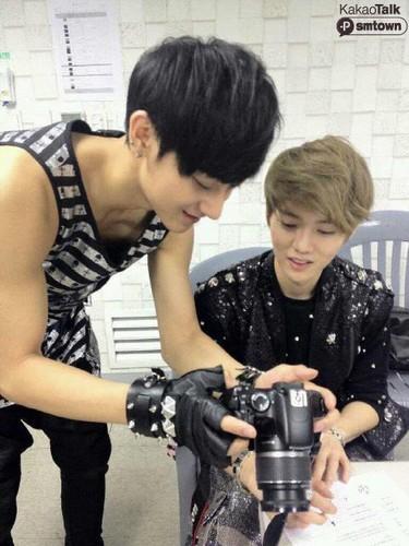 EXO-M Kakao Talk [Tao & Lu Han]