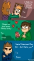 Eddsworld Valentine cards