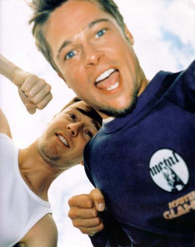 Edward Norton & Brad Pitt