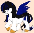 Emma as a pony. :D