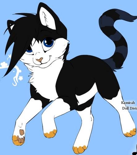 Emma as cat :)