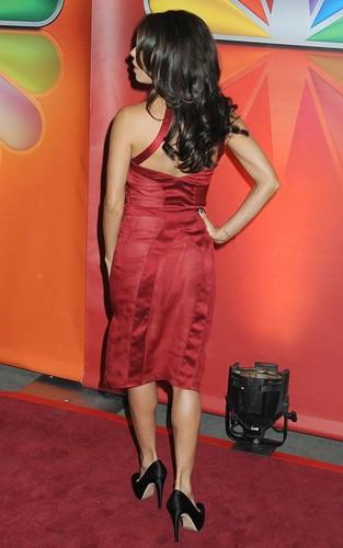 Eva Longoria at the NBC Upfronts in NYC