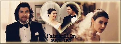 Fatmagül'ün Suçu Ne kertas dinding probably with a portrait called FG & K wedding pics