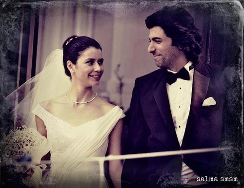 Fatmagül'ün Suçu Ne 壁紙 entitled FG & K wedding pics