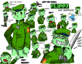 FLIPPY FACES - happy-tree-friends photo