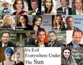 Fan made cast to Evil Under The Sun - poirot fan art