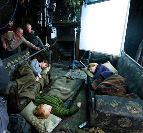 Filming - harry-potter Photo