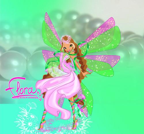 Winx Club hình nền called Flora Sirenix/Harmonix fanart