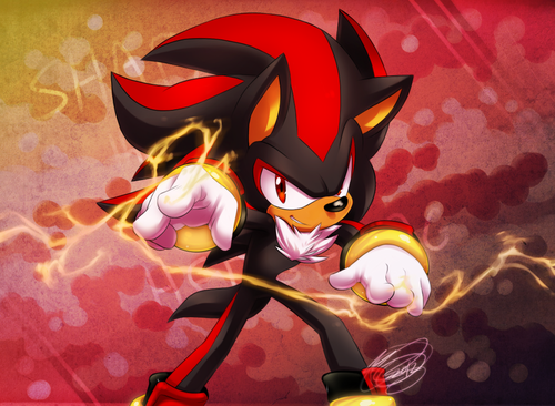 Shadow The Hedgehog kertas dinding entitled Flow