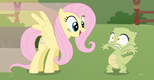 Fluttershy meets Jade
