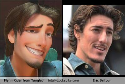 Flynn Ryder and Eric Balfour