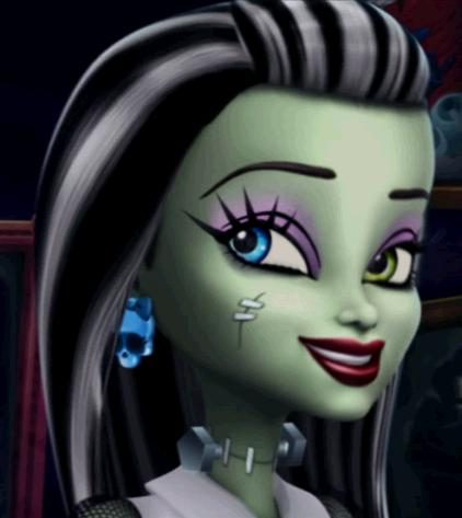 Monster High Hintergrund titled Frankie Stein Skull Shores