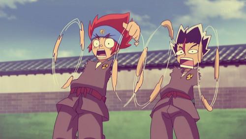 Funny Gingka and Masamune