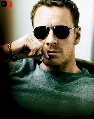 Michael Fassbender wallpaper with sunglasses called GQ Outttakes June 2012