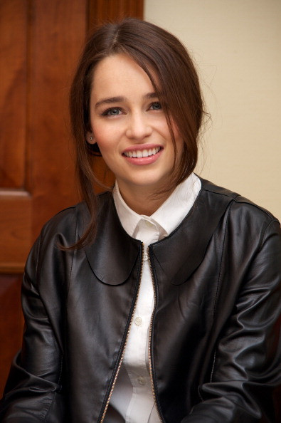 Game of Thrones Press Conference- Emilia Clarke