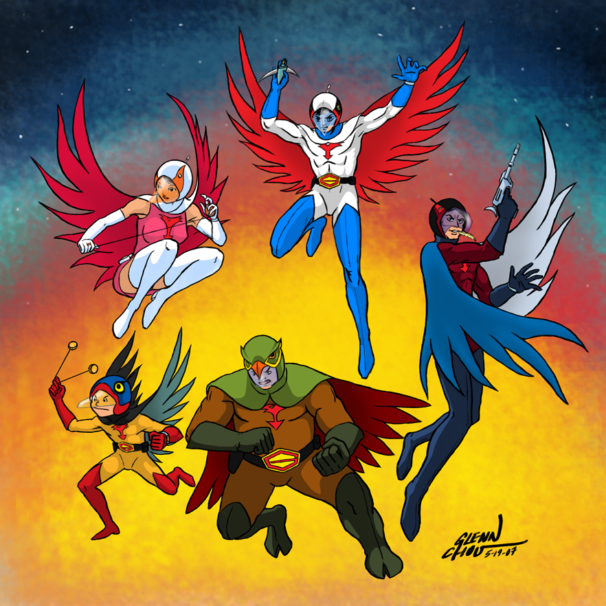 G Force Anime Characters : Gatchaman anime photo  fanpop