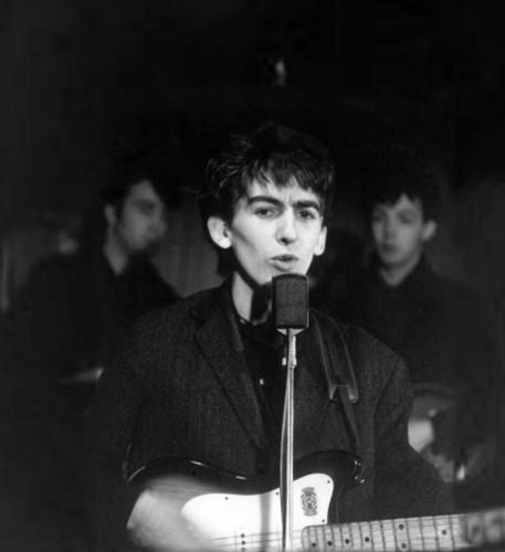 George Harrison in Hamburg
